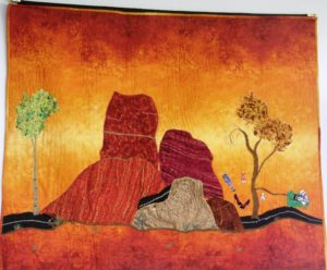 October Gallery Show-High Fiber Quilt Artist @ The DiFiore Center