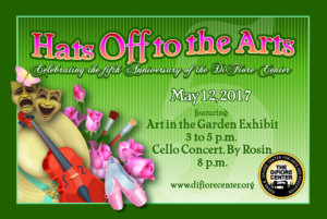 """""""Hats Off to the Arts""""- Art in the Garden"""
